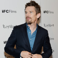 "NEW YORK, NY - JULY 07:  Actor Ethan Hawke attends the ""Boyhood"" New York premiere at Museum of Modern Art on July 7, 2014 in New York City.  (Photo by Dimitrios Kambouris/Getty Images)"