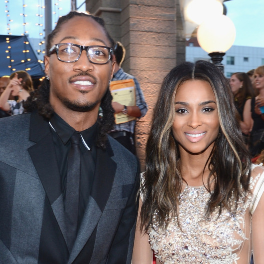 NEW YORK, NY - AUGUST 25:  Future (L) and Ciara attend the 2013 MTV Video Music Awards at the Barclays Center on August 25, 2013 in the Brooklyn borough of New York City.  (Photo by Larry Busacca/Getty Images for MTV)