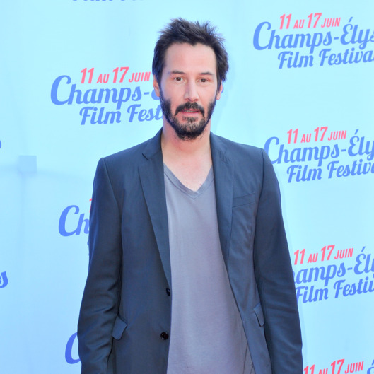 PARIS, FRANCE - JUNE 15:  Keanu Reeves attends the Side by Side Premiere during Day 5 of the Champs Elysees Film Festival on June 15, 2014 in Paris, France.  (Photo by Kay-Paris Fernandes/Getty Images)