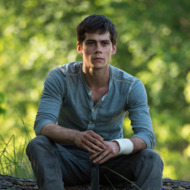 MAZE RUNNER  Dylan O'Brien stars as Thomas in THE MAZE RUNNER.  TM and © 2014 Twentieth Century Fox Film Corporation. All Rights Reserved. Not for sale or duplication.