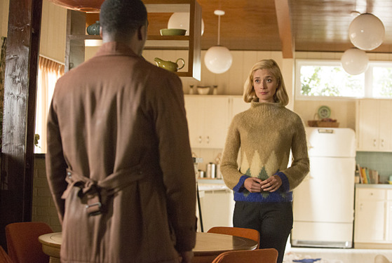Jocko Sims as Robert and Caitlin Fitzgerald as Libby Masters in Masters of Sex (season 2, episode 8) - Photo: Michael Desmond/SHOWTIME - Photo ID: MastersofSex_208_0432
