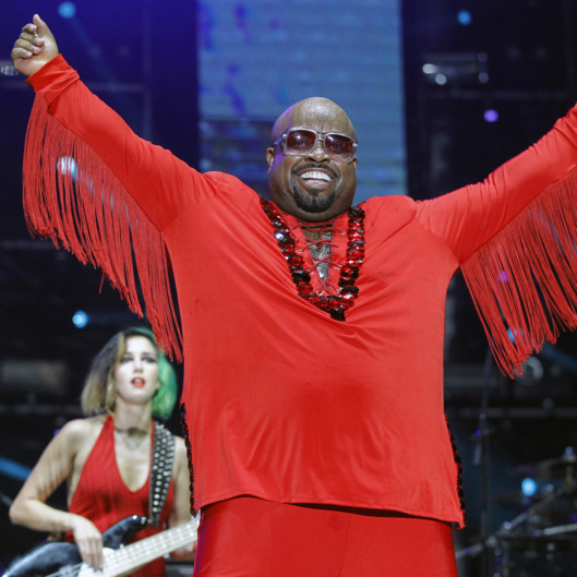 BELGRADE, SERBIA - AUGUST 13: Ceelo Green performs during the Beer Fest on August 13, 2014 in Belgrade, Serbia. (Photo by Srdjan Stevanovic/Getty Images)
