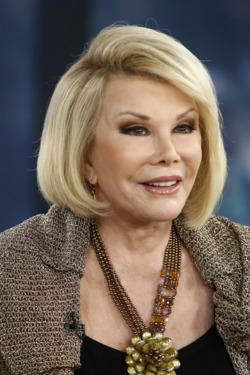 "TODAY -- Pictured: Joan Rivers appears on NBC News' ""Today"" show -- (Photo by: Peter Kramer/NBC/NBC NewsWire)"