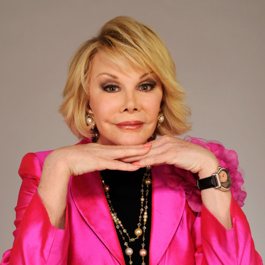 "NEW YORK - APRIL 27:  Joan Rivers from the film ""Joan Rivers - A Piece of Work"" attends the Tribeca Film Festival 2010 portrait studio at the FilmMaker Industry Press Center on April 27, 2010 in New York, New York.  (Photo by Larry Busacca/Getty Images for Tribeca Film Festival) *** Local Caption *** Joan Rivers"