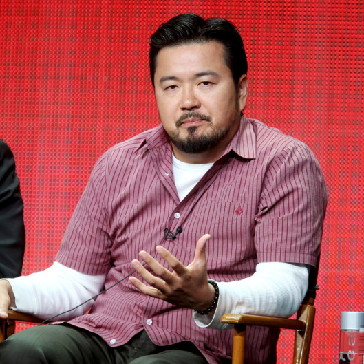 "Director/producer Justin Lin speaks onstage at the ""Scorpion"" panel during the CBS Network portion of the 2014 Summer Television Critics Association at The Beverly Hilton Hotel on July 17, 2014 in Beverly Hills, California."