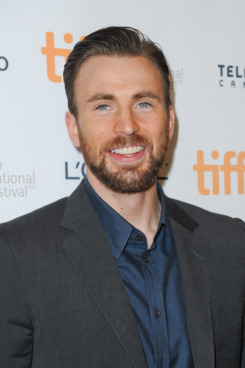 "TORONTO, ON - SEPTEMBER 12:  Actor/director Chris Evans attends the ""Before We Go"" premiere at the Toronto International Film Festival at Princess of Wales Theatre on September 12, 2014 in Toronto, Canada.  (Photo by Ernesto Distefano/Getty Images)"