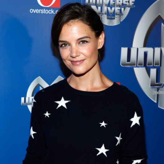 NEW YORK, NY - AUGUST 13:  Katie Holmes attends Marvel Universe LIVE! NYC World Premiere on August 13, 2014 in New York City.  (Photo by Brian Ach/Getty Images for Feld Entertainment)