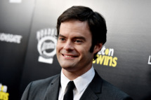 "LOS ANGELES, CA - SEPTEMBER 10:  Actor Bill Hader arrives at the premiere of Roadside Attractions' ""The Skeleton Twins"" at the Arclight Theatre on September 10, 2014 in Los Angeles, California.  (Photo by Kevin Winter/Getty Images)"