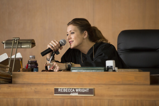 "BAD JUDGE -- ""Pilot"" -- Pictured: Kate Walsh as Rebecca -- (Photo by: John Fleenor/NBC)"