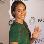 """NEW YORK, NY - OCTOBER 18:  Jada Pinkett Smith attends the 2nd Annual Paleyfest New York Presents: """"Gotham"""" at Paley Center For Media on October 18, 2014 in New York, New York.  (Photo by Nomi Ellenson/FilmMagic)"""