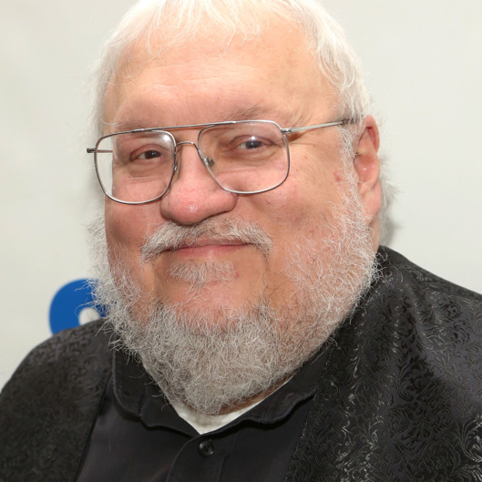 "NEW YORK, NY - OCTOBER 26:  ""Game of Thrones"" creator George R.R. Martin promotes his book ""The World of Ice and Fire: The Untold History of Westeros and the Game of Thrones"" at 92nd Street Y on October 26, 2014 in New York City.  (Photo by Taylor Hill/FilmMagic)"