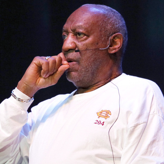 Bill Cosby performs at the Hard Rock Live in Hollywood, Florida on Mother's Day.