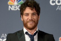 Comedian Adam Pally addresses the Press Room during the 2014 American Comedy Awards at Hammerstein Ballroom on April 26, 2014 in New York City.