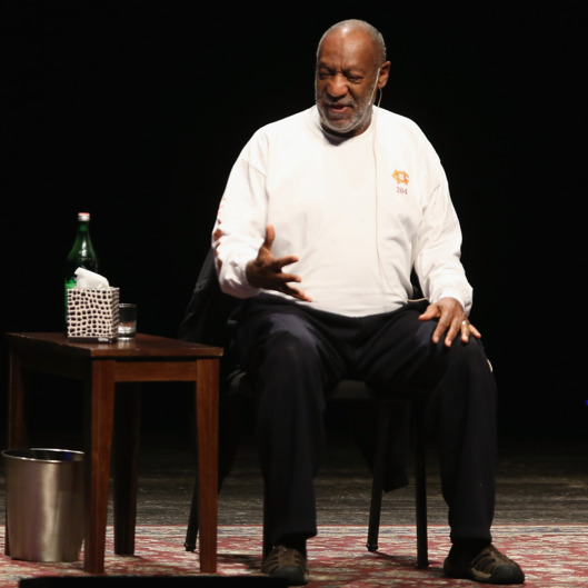MORRISTOWN, NJ - OCTOBER 19:  Bill Cosby performs in concert at Mayo Performing Arts Center on October 19, 2014 in Morristown, New Jersey.  (Photo by Al Pereira/Getty Images)