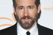 "NEW YORK, NY - NOVEMBER 22:  Ryan Reynolds attends ""2014 A Funny Thing Happened On The Way To Cure Parkinson's"" event at The Waldorf=Astoria on November 22, 2014 in New York City.  (Photo by Rob Kim/Getty Images)"