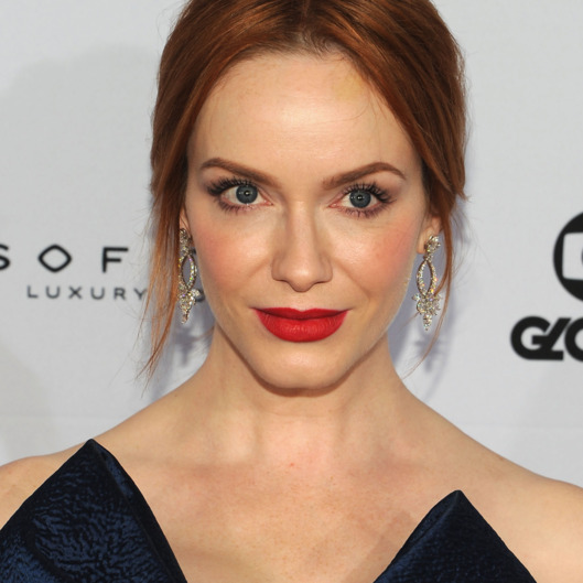 NEW YORK, NY - NOVEMBER 24:  Actress Christina Hendricks attends the 2014  International Academy Of Television Arts & Sciences Awards Arrivals at New York Hilton on November 24, 2014 in New York City.  (Photo by Andrew Toth/FilmMagic)