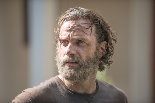 Andrew Lincoln as Rick Grimes - The Walking Dead _ Season 5, Episode 9 - Photo Credit: Gene Page/AMC