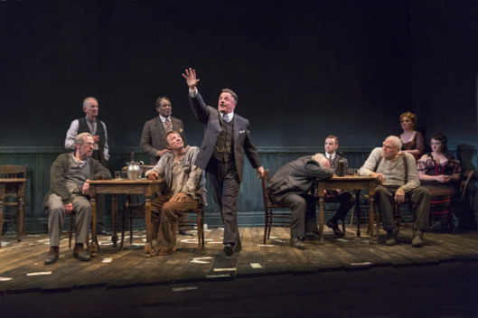 Photo: Nathan Lane and Brian DennehyBAM and Scott Rudin presentThe Iceman ComethBy Eugene O'NeillGoodman TheatreDirected by Robert FallsInvited dress rehearsal photographed: Wednesday, February 4, 2015; 7:30 PM at the BAM Harvey Theater; Brooklyn Academy of Music, NYC; Photograph: ? 2015 Richard Termine PHOTO CREDIT - Richard Termine