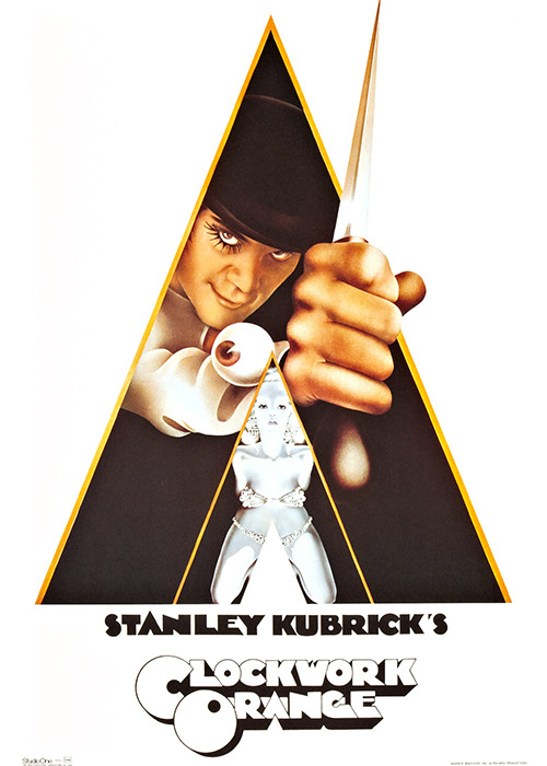 The film editing in <em>A Clockwork Orange</em>