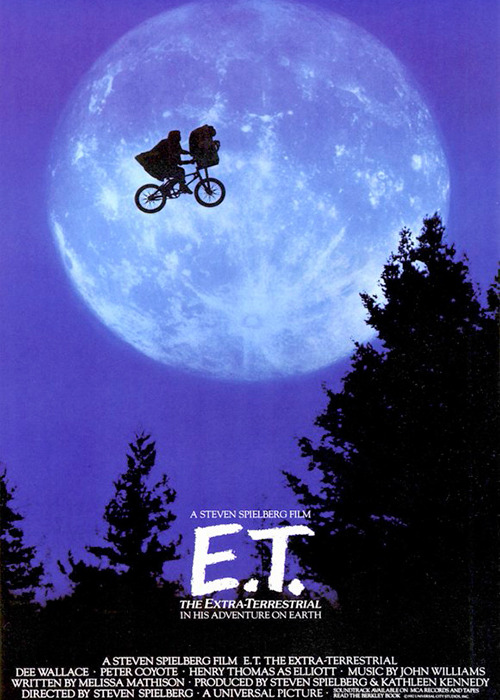 The directing of <em>E.T. the Extra-Terrestrial</em>