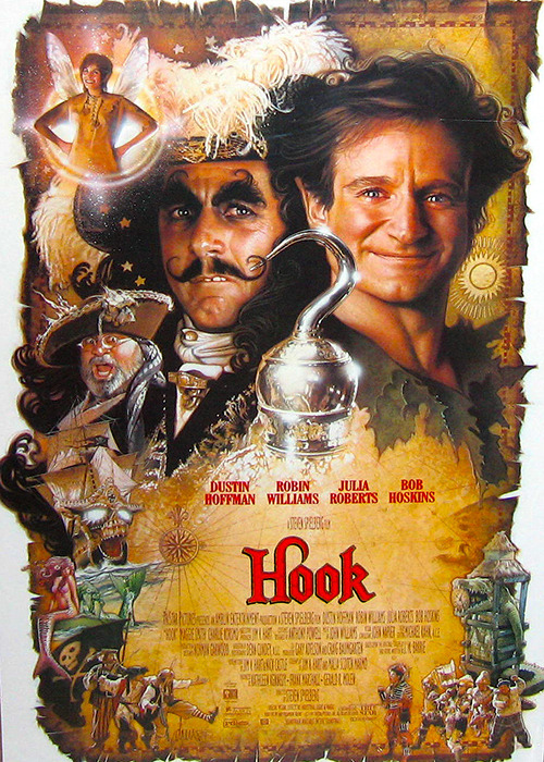 The makeup and hairstyling of <em>Hook</em>