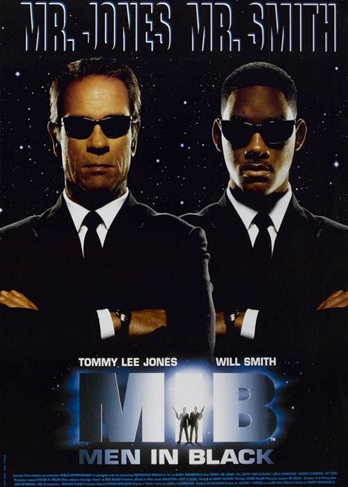 The makeup and hairstyling of <em>Men in Black</em>