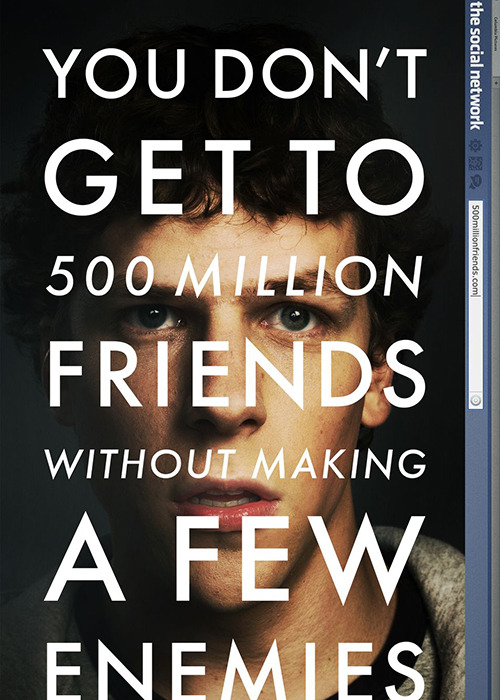 The film editing in <em>The Social Network</em>
