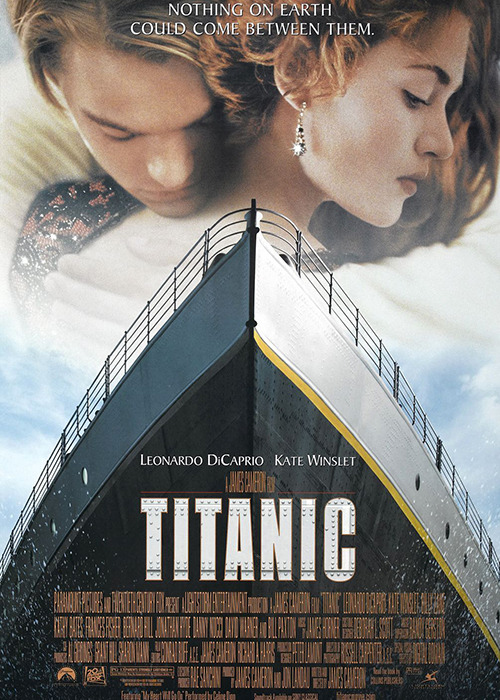 The cinematography of <em>Titanic</em>