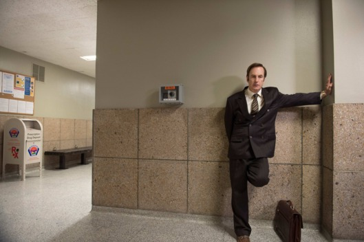 Bob Odenkirk as Saul Goodman - Better Call Saul _ Season 1, Episode 4.