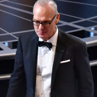HOLLYWOOD, CA - FEBRUARY 22:  Actor Michael Keaton in the audience prior to the start of the 87th Annual Academy Awards at Dolby Theatre on February 22, 2015 in Hollywood, California.  (Photo by Kevin Winter/Getty Images)