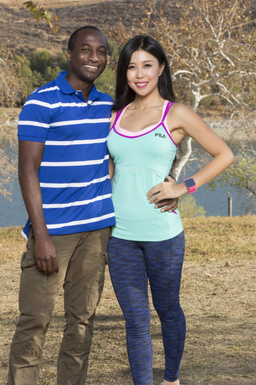 CBS announced today the 11 teams racing around the globe for the opportunity to win the $1 million dollar prize, on a special dating edition of THE AMAZING RACE. The show kicks off the most extreme blind dates ever with a 90 minute premiere on, Wednesday, Feb. 25 (9:30-11:00 PM, ET/PT) and moves to it's regular time period on Friday, Feb. 27 (8:00-9:00 PM, ET/PT) on the CBS Television Network. Pictured L-R: Jelani Roy and Jenny Wu Photo: Monty Brinton/CBS ?2014 CBS Broadcasting, Inc. All Rights Reserved