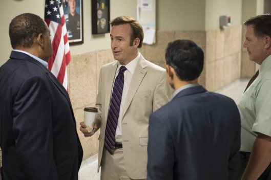 Bob Odenkirk as Jimmy McGill - Better Call Saul _ Season 1, Episode 6 - Photo Credit: Ursula Coyote/AMC
