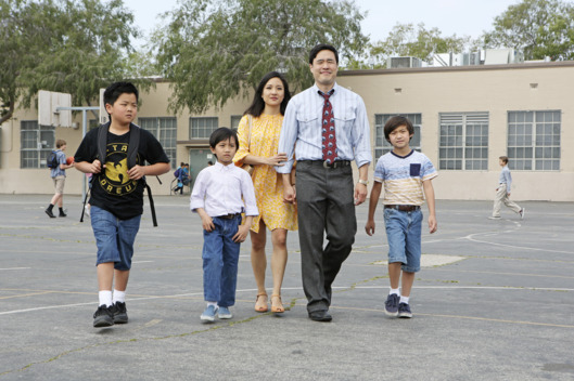 FRESH OFF THE BOAT - Pilot (ABC/Gilles Mingasson)HUDSON YANG, IAN CHEN, CONSTANCE WU, RANDALL PARK, FORREST WHEELER