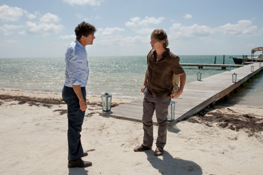Kyle Chandler (John Rayburn) and Ben Mendelsohn (Danny Rayburn) in the Netflix Original Series BLOODLINE.  Photo Credit: Saeed Adyani