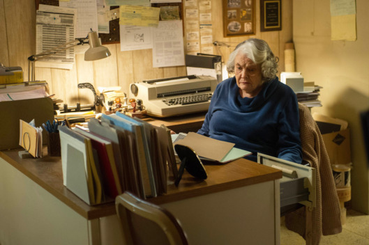 "THE AMERICANS -- ""Do Mail Robots Dream of Electric Sheep"" Episode 309 (Airs Wednesday, March 25, 10:00 PM e/p) Pictured: Lois Smith as Betty. CR: Jeffrey Neira/FX"