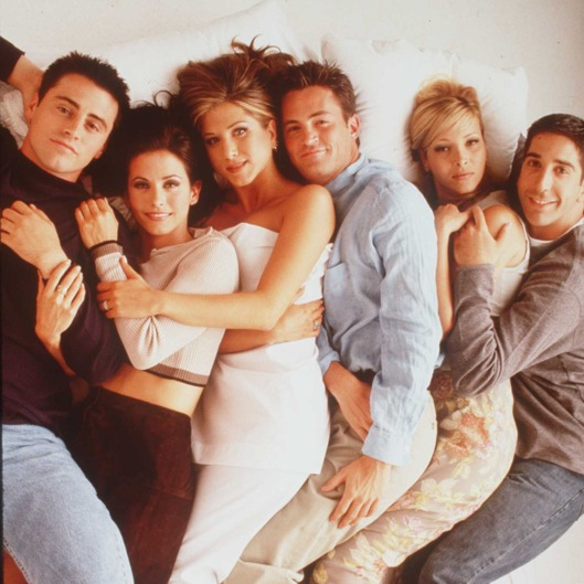 "1996 THE CAST OF THE TV HIT SERIES ""FRIENDS"""