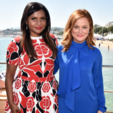 Amy Poehler and Mindy Kaling