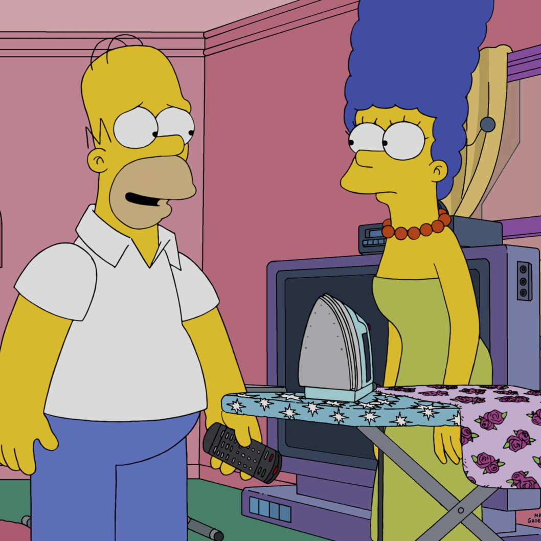 Bart is pissed about the homer marge rumors vulture - Marge simpson et bart ...