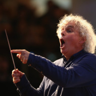 Young Londoners Perform With Legendary Conductor Sir Simon Rattle
