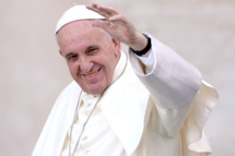 Pope Francis Holds an Audience For Ministrantes