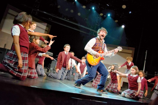 Alex Brightman in School of Rock.
