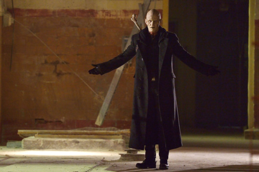 "THE STRAIN -- ""The Born"" -- Episode 207 (Airs August 23, 10:00 pm e/p) Pictured: Rupert Penry-Jones as Quinlan. CR: Michael Gibson/FX"