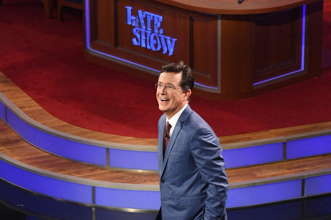 The Real Stephen Colbert Is A Sundayschool Teacher His Key To Latenight  Success Is Avoiding Piety