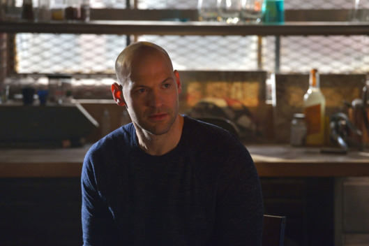 "THE STRAIN -- ""Fallen Light"" -- Episode 212 (Airs September 27, 10:00 pm e/p) Pictured: Corey Stoll as Ephraim Goodweather. CR: Michael Gibson/FX"