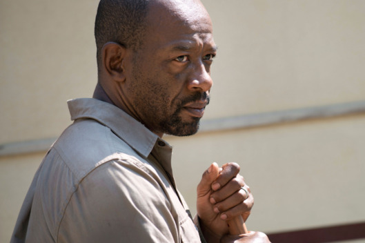 Lennie James as Morgan - The Walking Dead _ Season 6, Episode 1 - Photo Credit: Gene Page/AMC