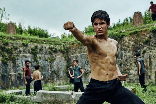 Aramis Knight as M.K. - Into the Badlands _ Season 1, Episode 4 - Photo Credit: James Minchin III/AMC