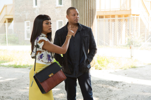 "EMPIRE: L-R: Taraji P. Henson and Terrence Howard in the ""A High Hope For A Low Heaven"" episode of EMPIRE airing Wednesday, Nov. 4 (9:00-10:00 PM ET/PT) on FOX. ©2015 Fox Broadcasting Co. Cr: Chuck Hodes/FOX."