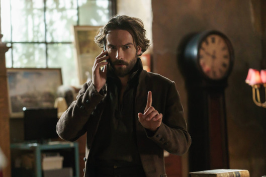 "SLEEPY HOLLOW: L-R: Tom Mison in the ""Moreau Initiative"""