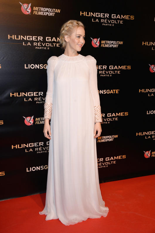The Hunger Games: Mockingjay Part 2 Paris Photocall At Cinema Le Grand Rex