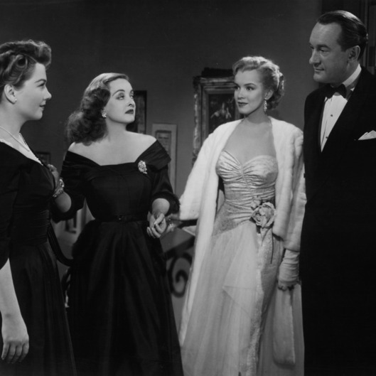 Marilyn Monroe And George Sanders In 'All About Eve